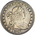 Early Half Dimes, 1797 H10C 15 Stars -- Cleaned -- ANACS. XF45 Details. V-2, LM-1,R.3....