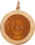 Golf Collectibles:Medals/Jewelry, 1959 Doug Sanders Coral Gables Open Winner's Gold Medal....