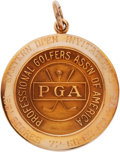 Golf Collectibles:Medals/Jewelry, 1961 Doug Sanders Eastern Open Invitational Winner's Gold Medal....