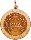Golf Collectibles:Medals/Jewelry, 1962 Doug Sanders St. Paul Open Invitational Winner's GoldMedal....