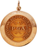 Golf Collectibles:Medals/Jewelry, 1961 Doug Sanders Colonial National Open Winner's Gold Medal....