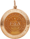 Golf Collectibles:Medals/Jewelry, 1962 Doug Sanders Oklahoma City Open Invitational Winner's GoldMedal....