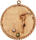 Golf Collectibles:Medals/Jewelry, 1958 Doug Sanders Western Open Winner's Gold Medal....