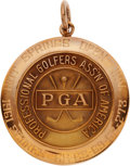 Golf Collectibles:Medals/Jewelry, 1961 Doug Sanders Hot Springs Open Invitational Winner's GoldMedal....