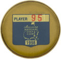 Golf Collectibles:Miscellaneous, 1998 Masters Tournament Contestant Badge from The Sam Snead Collection....
