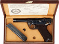 Handguns:Semiautomatic Pistol, Cased Krieghoff Suhl Model P08 1937 Luger Semi-Automatic Pistol with Certificate....