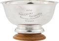 Golf Collectibles:Miscellaneous, 1950 Bing Crosby Pro-Am Championship Trophy Won by Sam Snead....