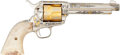 Handguns:Single Action Revolver, Colt Single Action Army Roy Rogers and Dale Evans Tribute Revolver....
