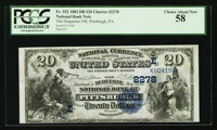 Pittsburgh, PA - $20 1882 Date Back Fr. 552 The Duquesne NB Ch. # (E)2278