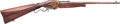 """Long Guns:Lever Action, Evans Lever Action Carbine Inscribed to """"WM"""" Polk Hardeman TexasRailroad Inspector and Confederate States Army Brigadier Gene..."""