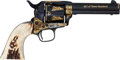"""Handguns:Single Action Revolver, Single Action Army Revolver Marked """"The American Indian.""""..."""