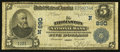National Bank Notes:Maine, Thomaston, ME - $5 1902 Date Back Fr. 590 The Thomaston NB Ch. #(N)890. ...