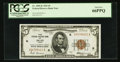 Small Size:Federal Reserve Bank Notes, Fr. 1850-K $5 1929 Federal Reserve Bank Note. PCGS Gem New 66PPQ.. ...