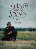 """Movie Posters:Western, Dances with Wolves (Majestic, 1991). French Grande (45"""" X 62"""").Western.. ..."""
