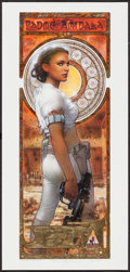"""Movie Posters:Science Fiction, Padme Amidala by Terese Nielsen (Lucasfilm, 2007). AutographedNumbered Limited Edition Art Print (9"""" X 19""""). Science Fictio..."""