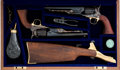 Handguns:Single Action Revolver, Cased Pair of Colt Black Powder Reproduction United States Cavalry Commemorative Single Action Revolvers.... (Total: 2 Items)