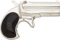 Handguns:Derringer, Palm, Remington Over & Under Derringer Second Model....
