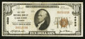 National Bank Notes:Wyoming, Laramie, WY - $10 1929 Ty. 1 The First NB Ch. # 4989. ...