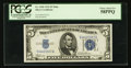 Small Size:Silver Certificates, Fr. 1650 $5 1934 Mule Silver Certificate. PCGS Choice About New 58PPQ.. ...