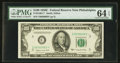 Small Size:Federal Reserve Notes, Fr. 2160-C* $100 1950C Federal Reserve Note. PMG Choice Uncirculated 64 EPQ.. ...