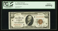 Small Size:Federal Reserve Bank Notes, Fr. 1860-D $10 1929 Federal Reserve Bank Note. PCGS Gem New 65PPQ.. ...