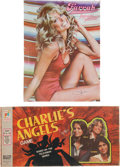 Movie/TV Memorabilia:Memorabilia, A Farrah Fawcett Set of Collectibles, 1977.... (Total: 2 Items)