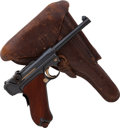 Handguns:Semiautomatic Pistol, DWM Model 1906 Commercial Luger Semi-Automatic Pistol with Holster....