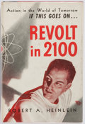 Books:Science Fiction & Fantasy, Robert A. Heinlein. Revolt in 2100. Shasta Publishers, 1953.First edition. Jacket design by Hubert Rogers. Publ...