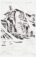 Original Comic Art:Splash Pages, Luke Ross and Butch Guice Captain America #602 Page 5Original Art (Marvel, 2010)....