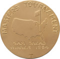 Golf Collectibles:Miscellaneous, 1954 Masters Championship Gold Medal Won by Sam Snead....