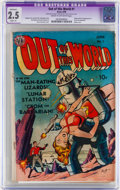 Golden Age (1938-1955):Science Fiction, Out of This World #1 (Avon, 1950) CGC Apparent GD+ 2.5 Slight (A)Cream to off-white pages....