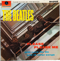 Beatles Signed Please Please Me Mono UK First Pressing LP (Parlophone PMC 1202, 1963).</
