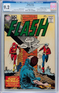 Silver Age (1956-1969):Superhero, The Flash #123 Don and Maggie Thompson Collection pedigree (DC,1961) CGC NM- 9.2 Off-white to white pages....