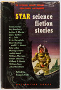 Books:Science Fiction & Fantasy, Frederik Pohl, editor. SIGNED. Star Science Fiction Stories. Ballantine Books, 1953. First edition. Signed by Po...