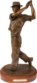 Golf Collectibles:Autographs, 1998 Slammin' Sam Snead Bronze Statue from The Sam SneadCollection....