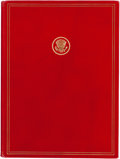 Books:Americana & American History, John F. Kennedy: Runnymede Memorial Dedication Book, 1965....