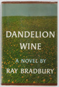 Books:Science Fiction & Fantasy, Ray Bradbury. SIGNED. Dandelion Wine. Doubleday & Company, 1957. First edition. Signed by Bradbury on the FFEP. ...