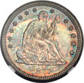 Seated Quarters, 1877-CC 25C MS67 NGC....