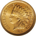 Indian Cents: , 1862 1C MS66 PCGS. This boldly impressed example is free of all buta few isolated areas of striking incompleteness. All f...