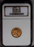 Lincoln Cents: , 1953 1C MS67 Red NGC. A wonderful orange-red example. Crisply struck, and kept from perfection only by nearly imperceptible...