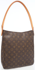 Luxury Accessories:Bags, Louis Vuitton Classic Monogram Looping GM Shoulder Bag. ...
