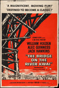 "Movie Posters:War, The Bridge on the River Kwai (Columbia, 1958). Poster (40"" X 60"").War.. ..."