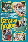 """Movie Posters:Comedy, Carry On Doctor (Rank, 1967). British One Sheet (27"""" X 40""""). Comedy.. ..."""