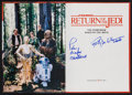Movie Posters:Science Fiction, Return of the Jedi: The Storybook & Others Lot (Random House,1983). Autographed Hard Cover Book, Hard Cover Book, & SoftCo... (Total: 3 Items)
