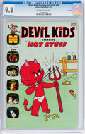 Bronze Age (1970-1979):Humor, Devil Kids Starring Hot Stuff #58 File Copy (Harvey, 1973) CGCNM/MT 9.8 Off-white to white pages....