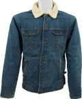 Music Memorabilia:Costumes, Elvis Presley - A Denim Jacket, 1960s....