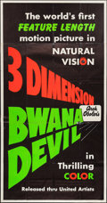 "Movie Posters:Adventure, Bwana Devil (United Artists, 1953). Three Sheet (41"" X 78"") 3-DStyle. Adventure.. ..."