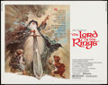 """Movie Posters:Animation, The Lord of the Rings (United Artists, 1978). Half Sheet (22"""" X28""""). Animation.. ..."""