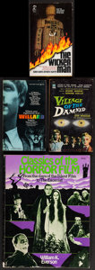 "Movie Posters:Horror, The Wicker Man & Others Lot (Pocket Books, 1979). Soft CoverBooks (4) (Multiple Pages, 4"" X 7"" & 8.5"" X 11""). Horror.. ...(Total: 4 Items)"