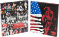 Music Memorabilia:Memorabilia, Crossfire Hurricane 25 Years of The Rolling Stones in the USA Photography by Bob Gruen Deluxe Signed Limited Edition #...